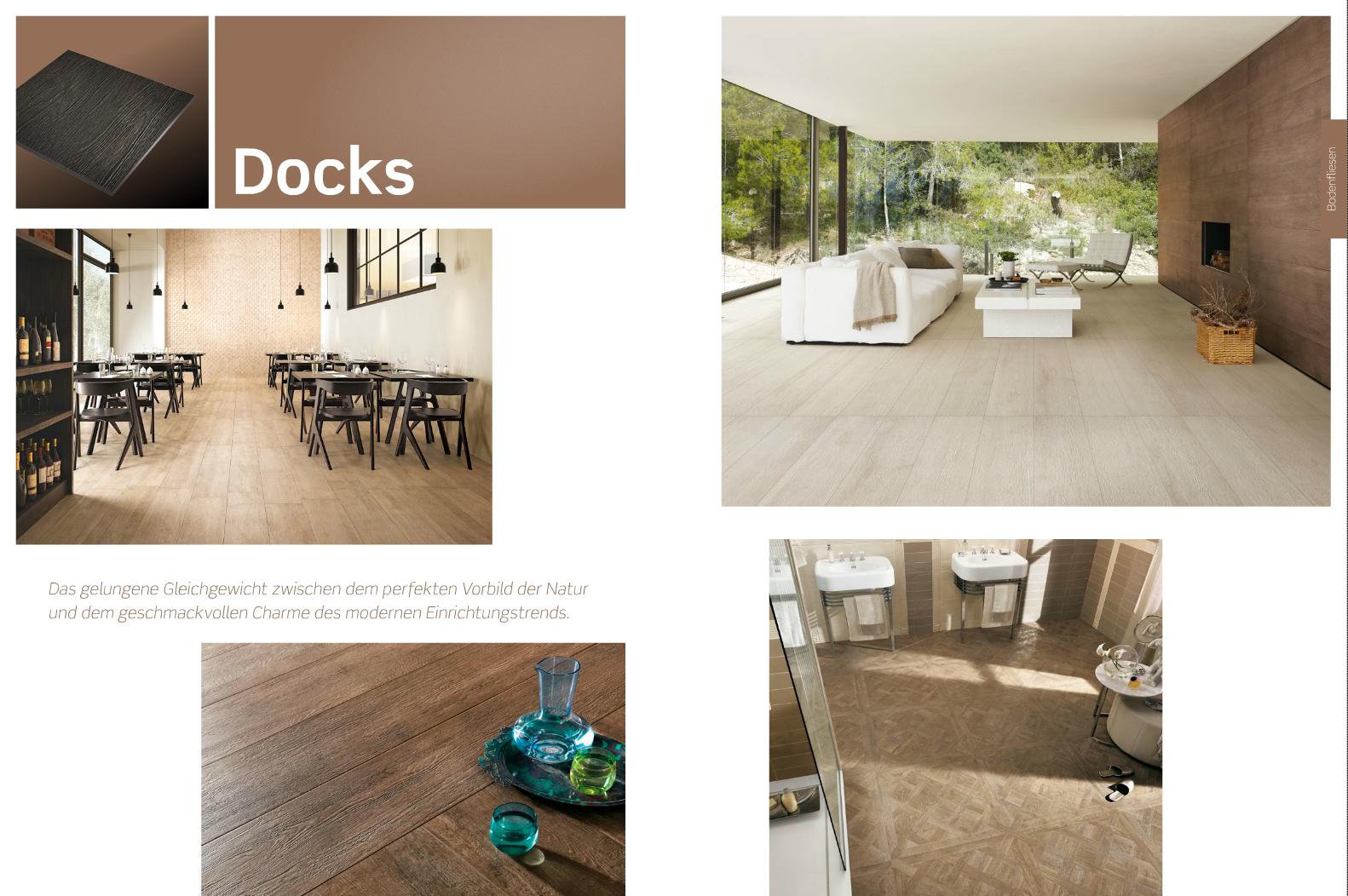 Bodenfliese Docks