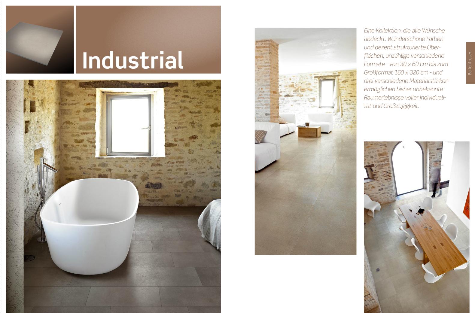 Bodenfliese Industrial