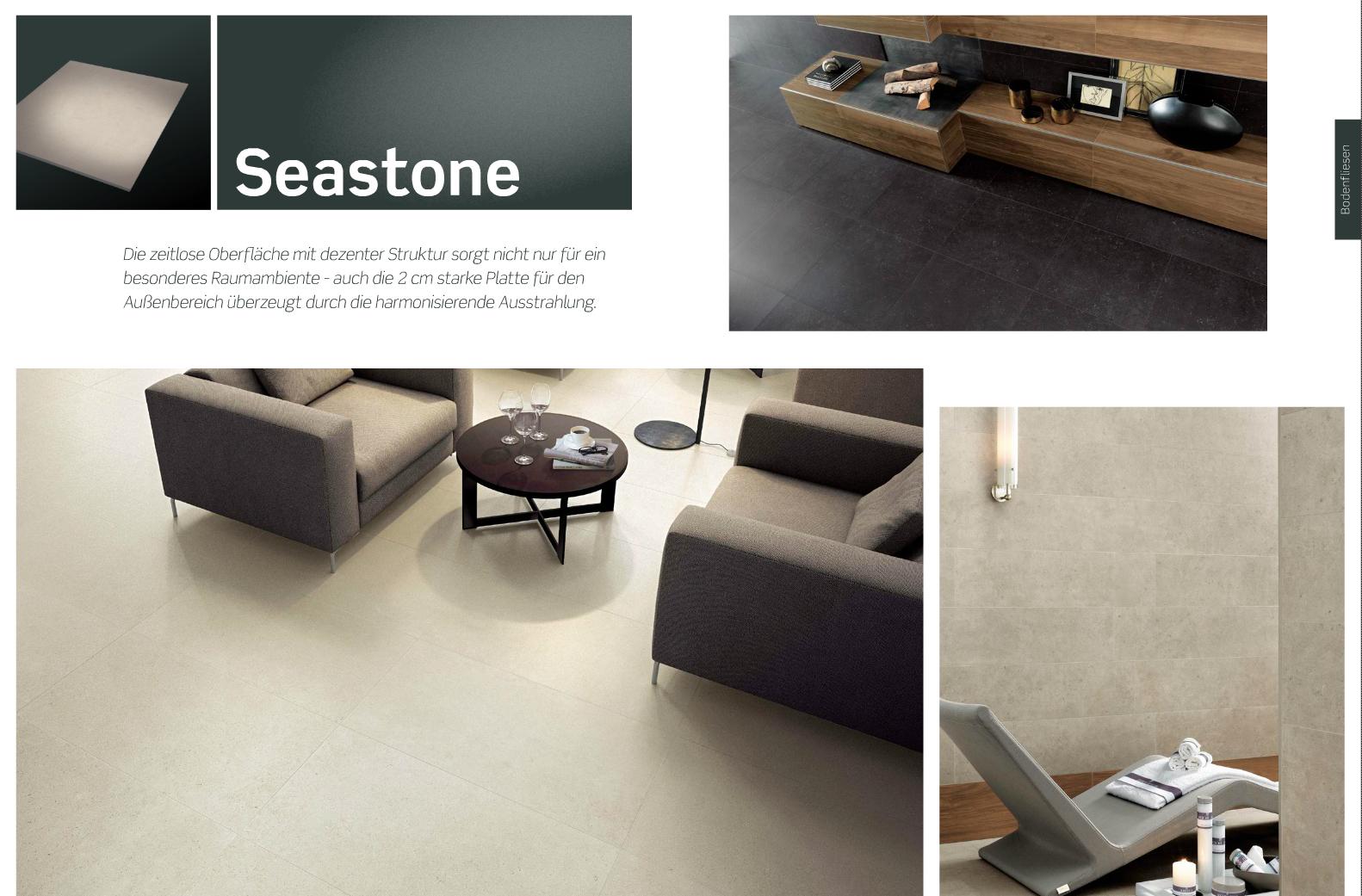 Bodenfliese Seastone