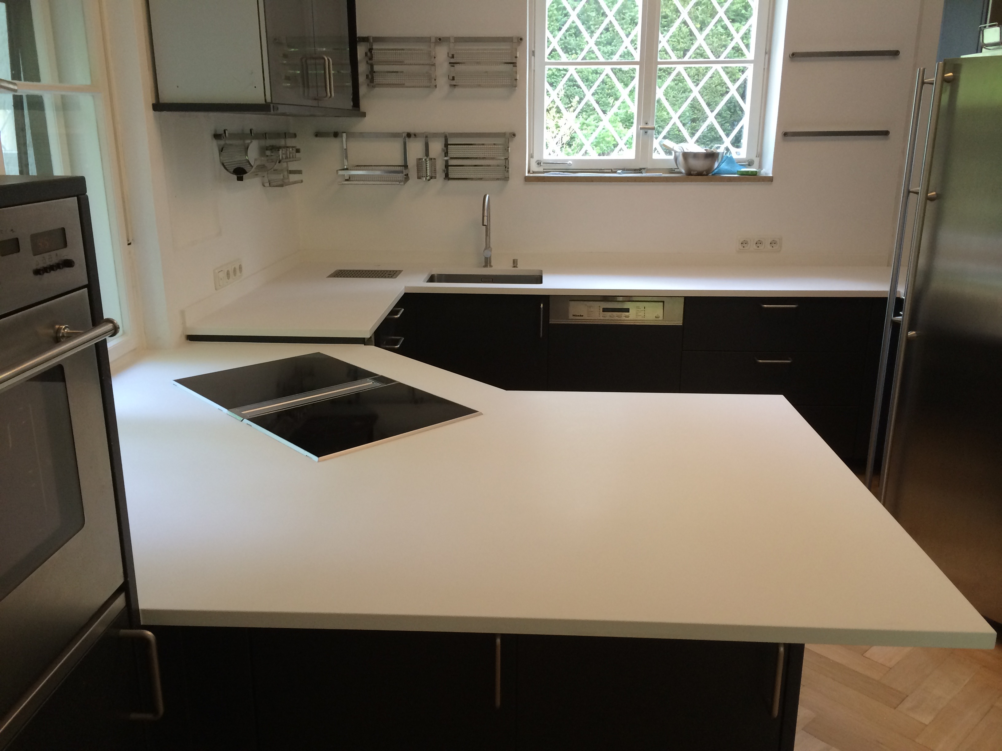 Arbeitsplatte und Küchenplatten aus Silestone
